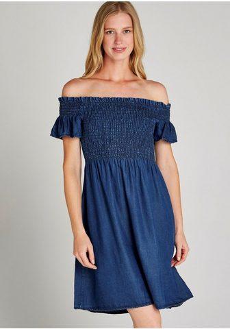 APRICOT Suknelė »Ruched Bardot Džinsai stilius...