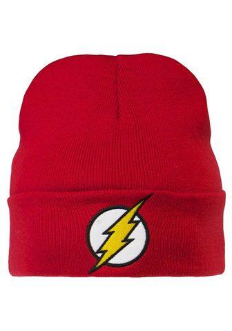 LOGOSHIRT Megzta kepurė su The Flash-Logo