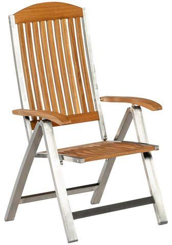 MERXX Poilsio kėdė »Keros« Edelstahl/Akazie ...