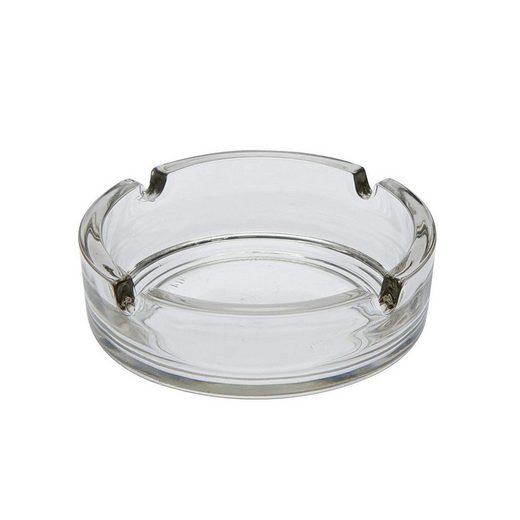Arcoroc Aschenbecher »Cologne«, Aschenbecher Ascher Glas transparent 6 Stück