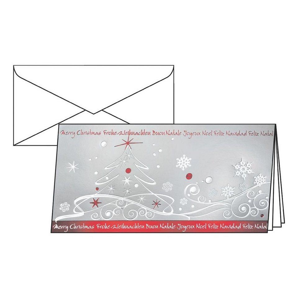 sigel weihnachtskarten mit umschl gen winter breeze. Black Bedroom Furniture Sets. Home Design Ideas