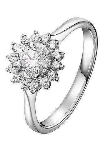 CHRIST Žiedas su deimantais »32003808«