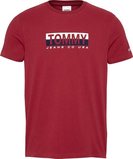 Tommy Jeans T-Shirt »TJM TOMMY CONTRAST BOX TEE«