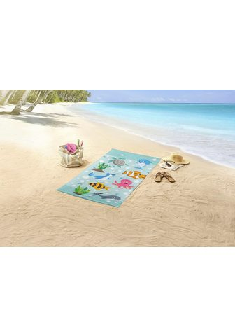 GOOD MORNING Paplūdimio rankšluostis
