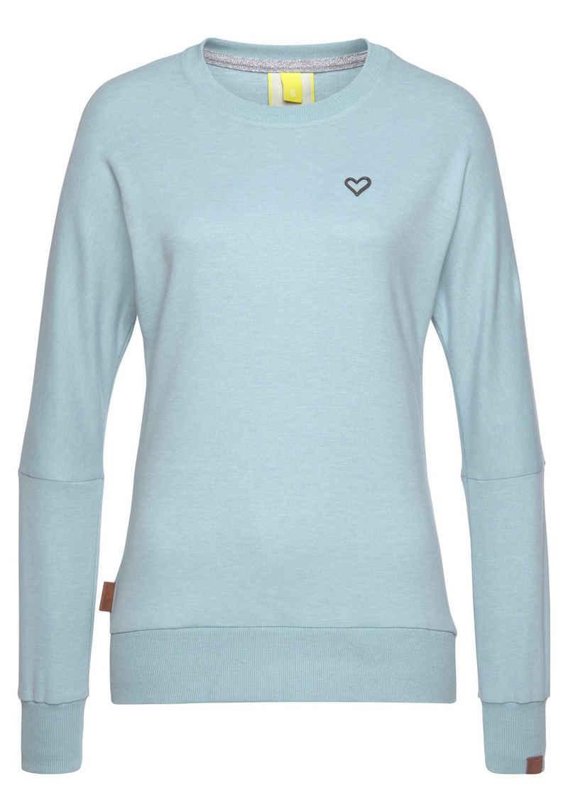 Alife & Kickin Sweatshirt »DarlaAK« modischer Sweater mit Rundhalsausschnitt & breiten Bündchen