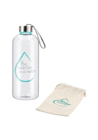 XAVAX Glasflasche 1l Wasserflasche iš Borosi...