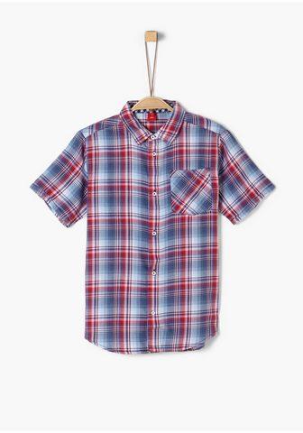 Twill-Kurzarmhemd_für Jungen