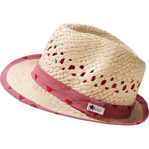 Sterntaler® Strohhut mit UV-Schutz 50+ für Mädchen