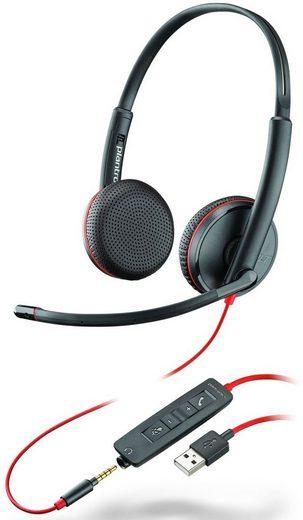 Plantronics »Blackwire C3225 Stereo USB-A & 3,5 mm« PC-Headset