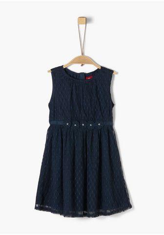 Mesh-Kleid_für Mädchen