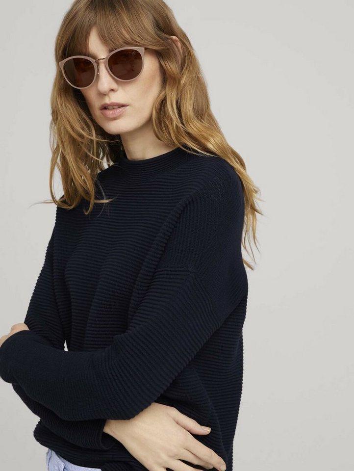 tom tailor -  Sonnenbrille »Sonnenbrille mit Metallelementen«