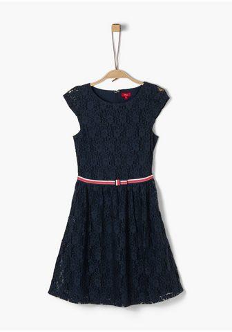 S.OLIVER Spitzen-Kleid_für Mädchen