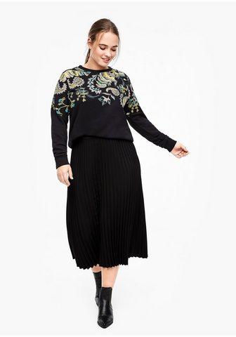 TRIANGLE Sportinio stiliaus megztinis