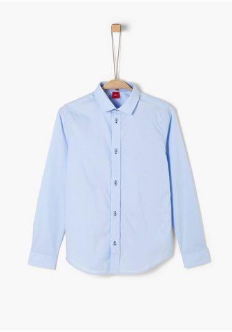 S.OLIVER Popeline-Hemd_für Jungen