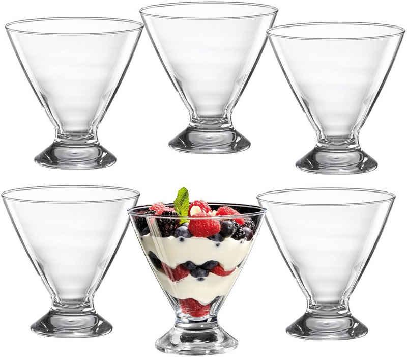 Ritzenhoff & Breker Eisschale »Pisa«, Glas, (Set, 6-tlg), 300 ml