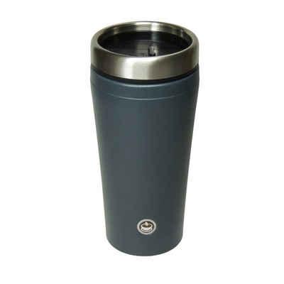 """elasto Thermobecher »Premium Thermobecher 450ml """"Mars"""" aus Edelstahl 100% Auslaufsicher - Kaffeenecher To Go«"""
