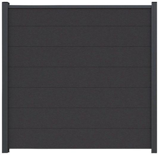 Kiehn-Holz Sichtschutzelement, (Set), LxH: 180x180 cm, Pfosten zum Aufschrauben