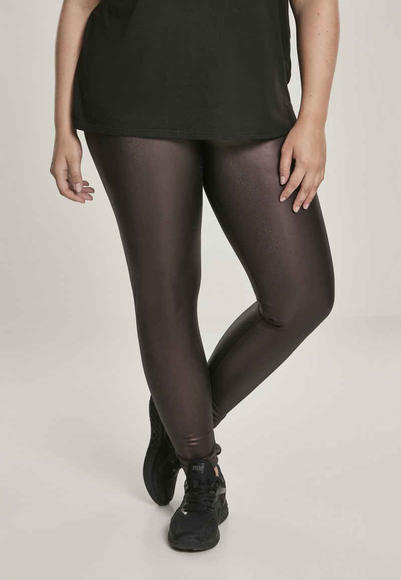 URBAN CLASSICS Leggings »Ladies Synthetic Leather High Waist Leggings«