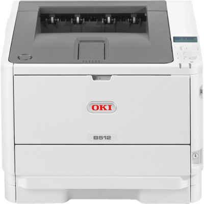 OKI B512dn, USB/LAN Multifunktionsdrucker