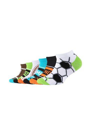 Skechers Socken (6-Paar) mit sportlichen Motiven