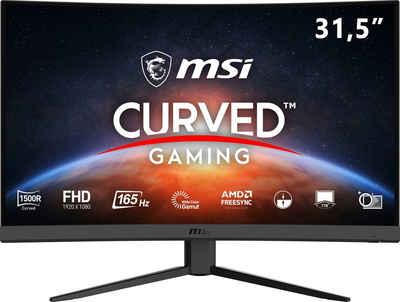 """MSI Optix G32C4 Gaming-Monitor (80 cm/31,5 """", 1920 x 1080 Pixel, Full HD, 1 ms Reaktionszeit, 165 Hz, VA LED, 3 Jahre Herstellergarantie)"""