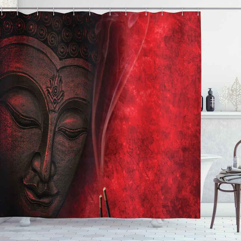 Abakuhaus Duschvorhang »Moderner Digitaldruck mit 12 Haken auf Stoff Wasser Resistent« Breite 175 cm, Höhe 200 cm, asiatisch Zen Yoga Hippie Design