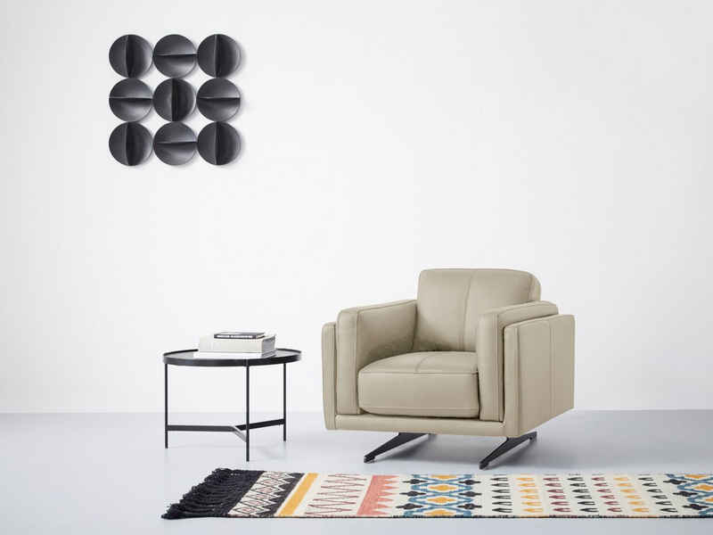 Domicil Sessel »Mikonos«, mit eleganten Metallfüßen
