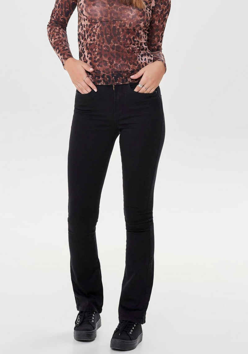 Only Bootcut-Jeans »ONLROYAL LIFE HIGH SWEET FLARE«