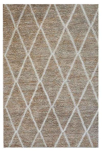 Teppich »Steg zum Ufer«, KUNSTLOFT, rechteckig, Höhe 10 mm, handgefertigter Läufer aus robusten Material