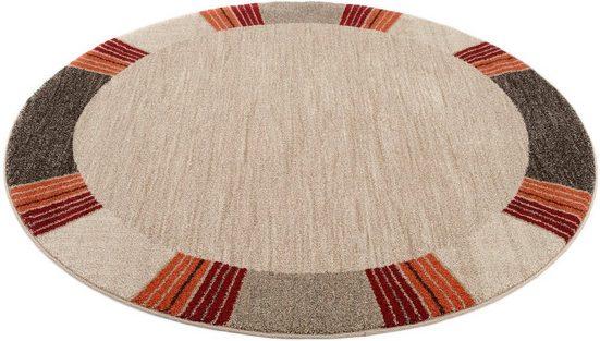 Teppich »CASTLE FLORA«, OCI DIE TEPPICHMARKE, rund, Höhe 20 mm, Wohnzimmer