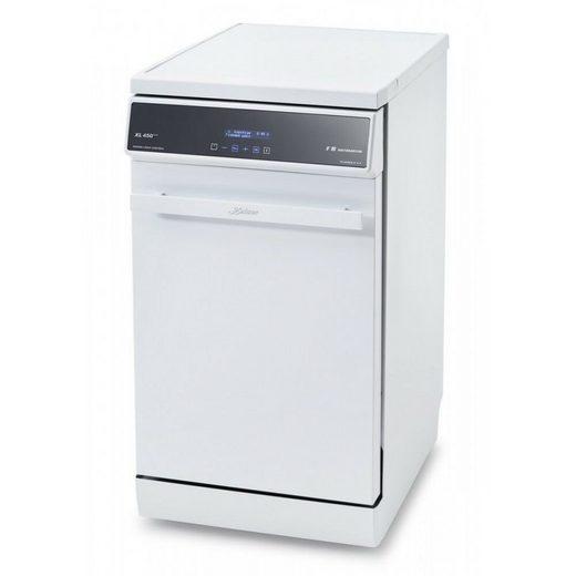 Kaiser Küchengeräte Unterbaugeschirrspüler Premium LINE, S 4586 XL W, 9 l, 10 Maßgedecke, Spülmaschine 45cm Weiß Geschirrspüler Freistehend 10 Maßgedecke