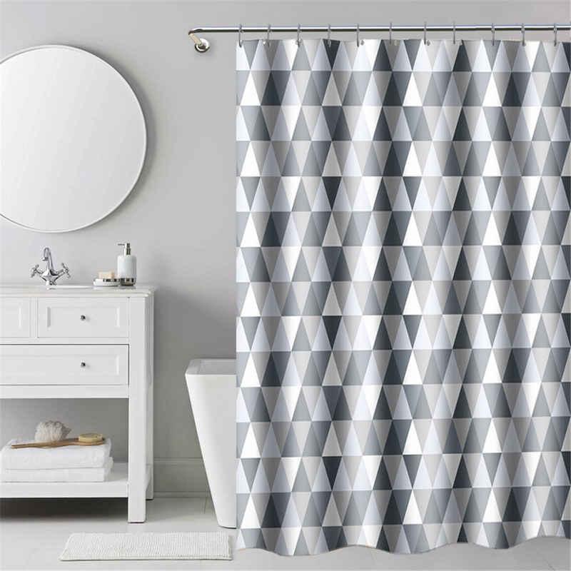i@home Duschvorhang »hohe Qualität, Badvorhang« Breite 180 cm