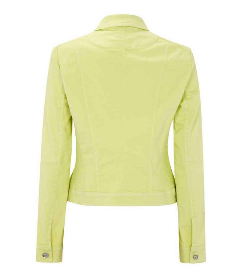 GERRY WEBER Jeansjacke »GERRY WEBER Jacke stylische Damen Jeans-Jacke mit Stretch-Anteil Freizeit-Jacke Gelb«