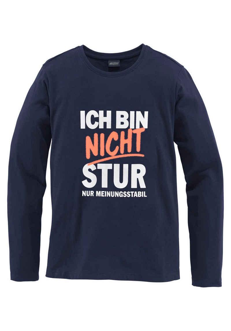 KIDSWORLD Langarmshirt »Ich bin nicht stur«