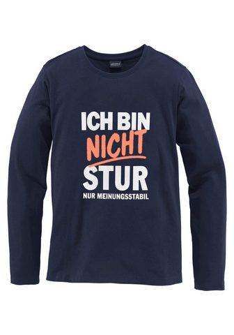 KIDSWORLD Marškinėliai ilgomis rankovėmis »Ich b...