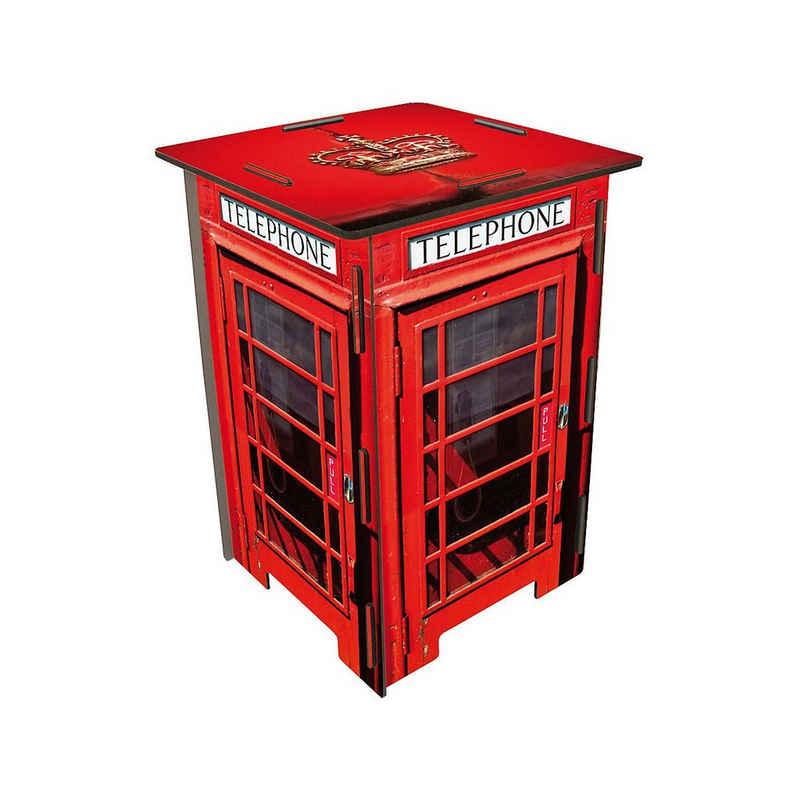 WERKHAUS® Sitzhocker »Photo-Hocker Telefonzelle London«