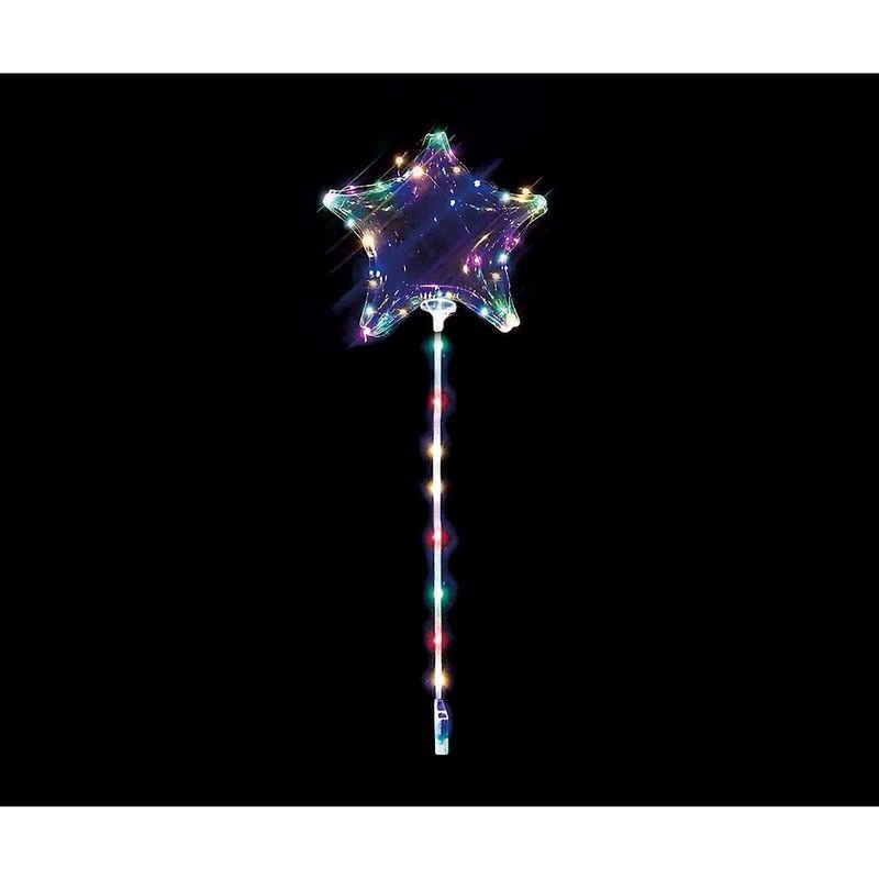 """Happy People Folienballon »Leuchtballon """"Stern"""" mit Lichterkette,«"""