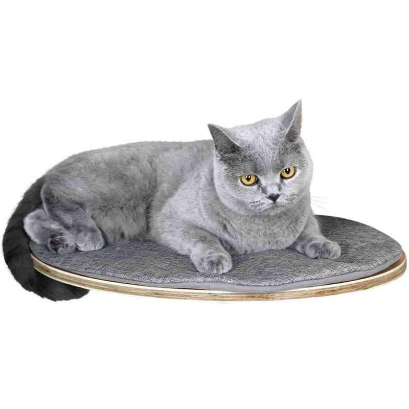 Kerbl Katzen-Kletterwand »Kerbl Wandliegebrett für Katzen Tofana 35 x 50 cm Grau 81543«
