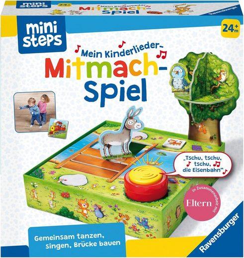 Ravensburger Spiel, »ministeps® Kinderlieder-Mitmachspiel«, Made in Europe, FSC® - schützt Wald - weltweit