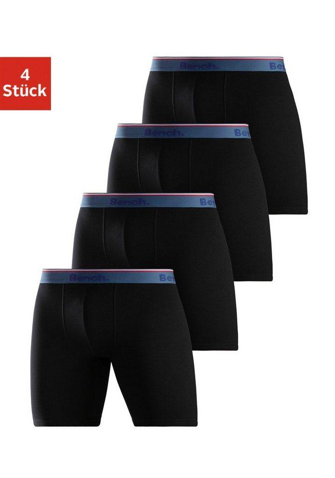 Bench. Langer Boxer (4 Stück) mit schmalem Streifen im Webbund online kaufen | OTTO