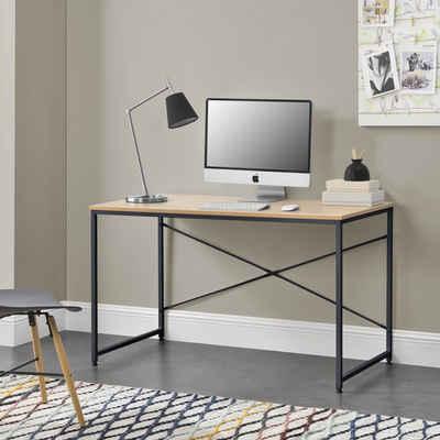 en.casa Schreibtisch, »Røros« Computertisch 120x60cm in verschiedenen Farben