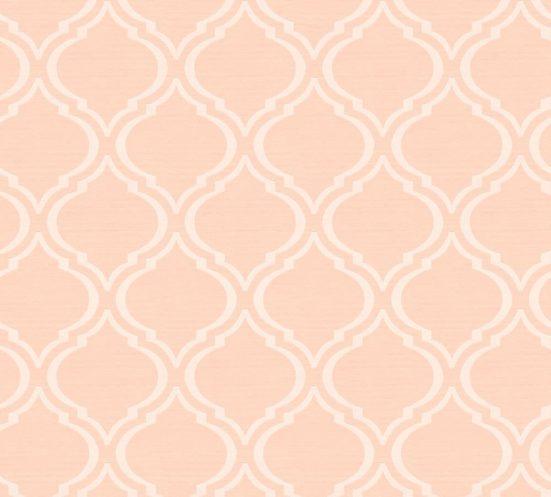 living walls Textiltapete »Di Seta«, samtig, leicht glänzend, gemustert, Retro, (1 St), samtig
