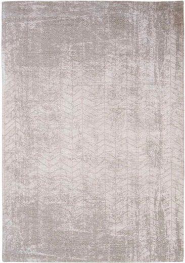 Teppich »JACOB'S LADDER«, louis de poortere, rechteckig, Höhe 3 mm, Flachgewebe, modernes Design, 85% Baumwolle, Wohnzimmer