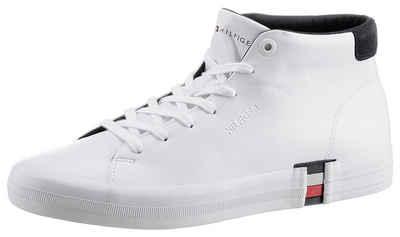 Tommy Hilfiger »PREMIUM HIGH CORPORATE VULC« Sneaker mit Kontrastbesatz