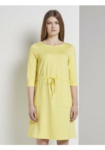 TOM TAILOR DENIM TOM TAILOR Džinsai suknelė »Mini sukne...