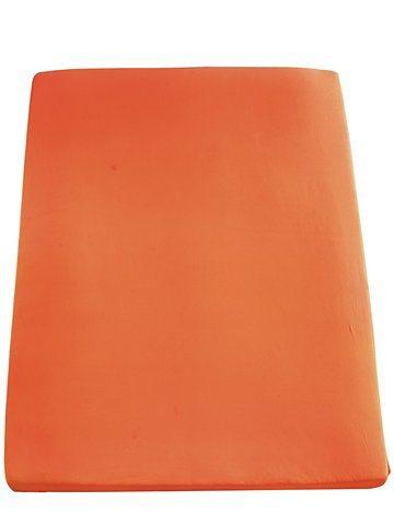 Spannbetttuch, 2er-Set in orange
