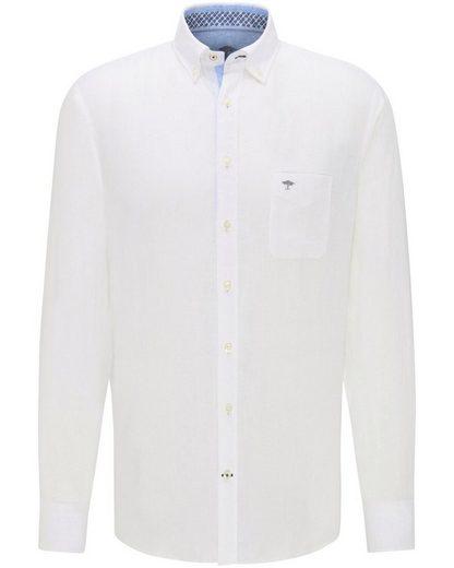 FYNCH-HATTON Langarm-Leinenhemd
