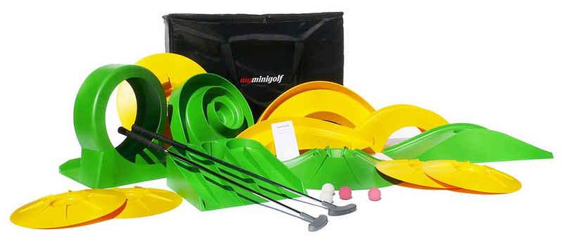 DeFacto Spielzeugtruhe »myminigolf Professional Minigolf Komplettset Minigolf-Set Pro 13 Hindernisse 003«