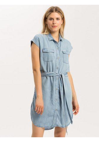 CROSS JEANS ® džinsinė suknelė »B 524«