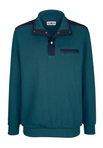 Пуловер с praktischer карман